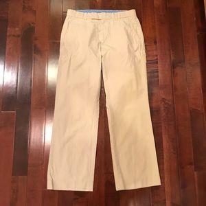 Gap Straight Fit Flat Front Khaki Chino Pants